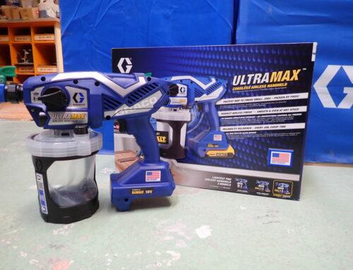 Graco : pulvérisateurs portatifs Ultra airless